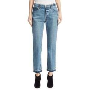 Helmut Lang Straight Leg Jeans In A Vintage Wash